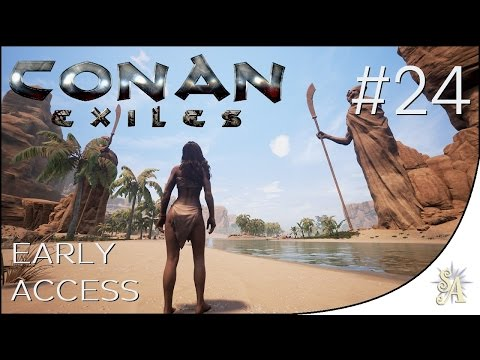 Conan Exiles: #24 - Base: Kitchen area