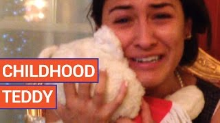 Man Surprises Fiance With Childhood Bear | Daily Heart Beat