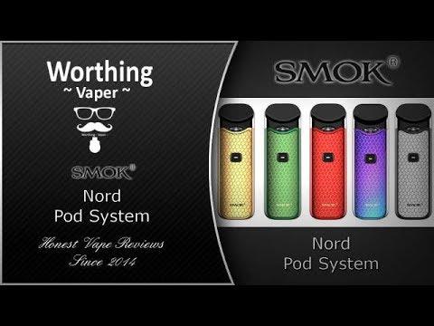Smok Nord Pod Kit Review - A Surprising Little Pod System! | Ecigclick