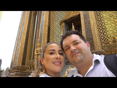VLOG #50: Royal Grand Palace Tour #1 Attraction In Bangkok