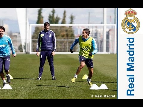 Di María joins the squad as they prepare for Saturday's match against Mallorca