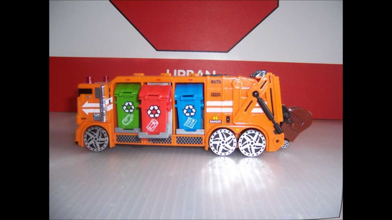 Toy Garbage Truck Time Toy Garbage Trucks Collection