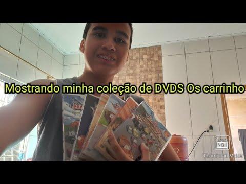 Minha coleção de DVDs Os carrinhos