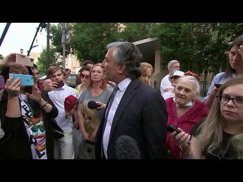 Второй день процесса над актером Михаилом Ефремовым начался с опроса свидетелей.