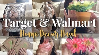 Target & Walmart Haul / Romantic French Country/ Modern Farmhouse Decor