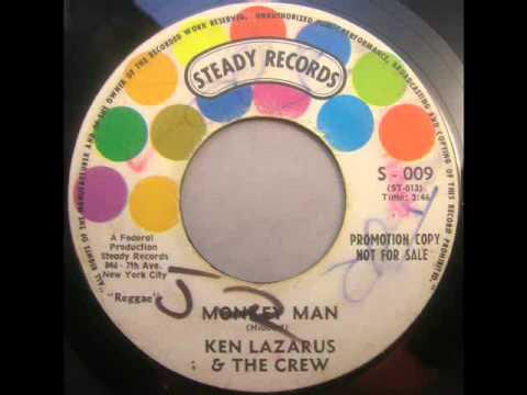 Ken LazarusMonkey ManSteady S-009 45 spin
