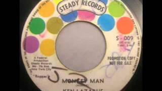Ken Lazarus  Monkey Man  Steady S-009 45 spin
