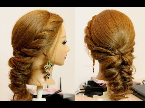 Easy everyday hairstyle for medium hair tutorial