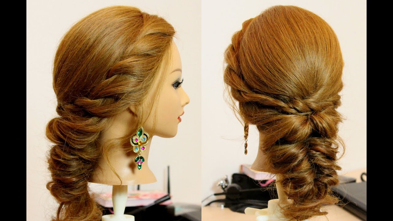 Easy everyday hairstyle for long medium