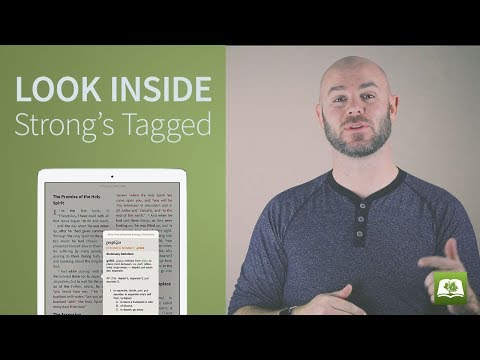 Look Inside: Strong's Tagged Bibles