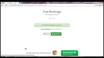 Tutorial: Get FREE BookRags Study Guides (Aug 2014)