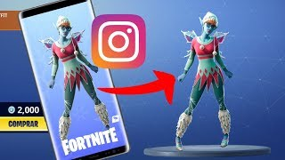 LEAKED SKIN from the Fortnite Instagram Story | SUGARPLUM Fortnite