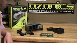 Ozonics HR200 quick start guide