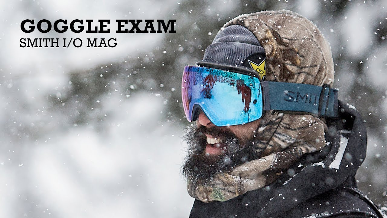 7010b70a1 Snowboarder Goggle Exam 2019—Smith I/O Mag - YouTube