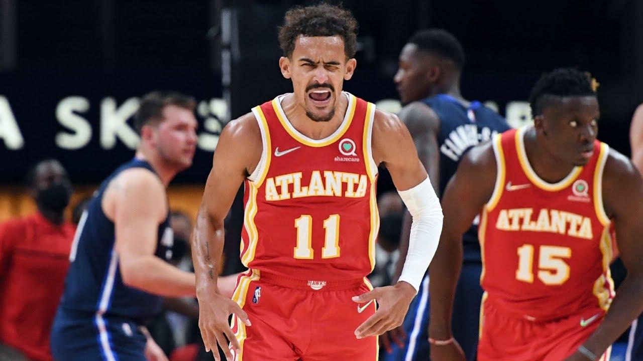 Hawks Blowout Mavs! Trae Young 19 Pts 14 Asts vs Luka Doncic! 2021 NBA Season