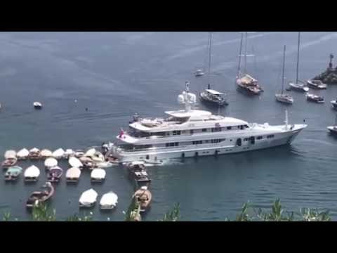 BILLIONAIRE's YACHT CRASHES PEASANT