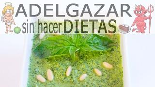 SALSA PESTO # ADELGAZAR SIN HACER DIETAS