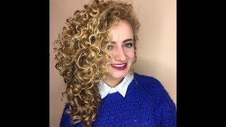 Спирально-вертикальная завивка волос от Bianca-Lux