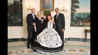 Ex-Presidente Barack Obama  --  Me Invito a La Casa Blanca  --  Alondra Santos