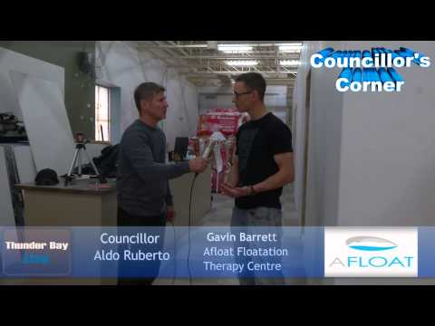 Councillor's Corner - New Business Afloat Floatation Therapy Centre