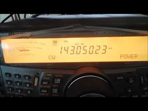 Audible EME signal reception test TS-2000 x RTL x FunCube Pro+