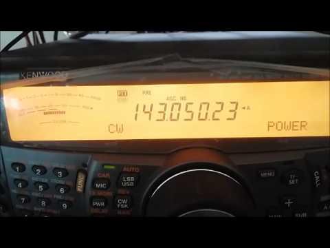 Audible EME signal reception test TS-2000 x RTL x FunCube Pro+