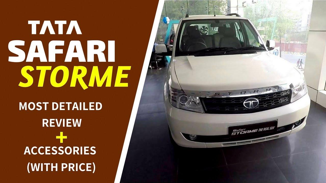 Tata Safari Storme Accessories Car Review Hindi Ujjwal Saxena