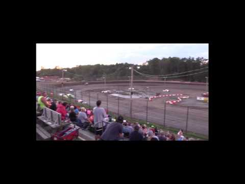 Hilltop Speedway Modified Dash 6-24-17