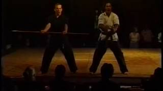 Demo by David Douglas and Garry Waugh at 1997 Mile High Karate Tournament