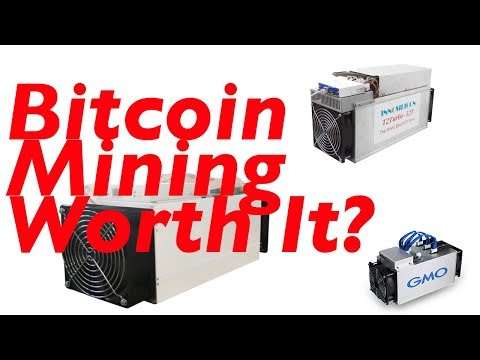 Bitcoin Mining Worth It? ASIC Mining Hardware-Bitcoin Mining 2018? Bitmain,GMO, Innosilicon Miners