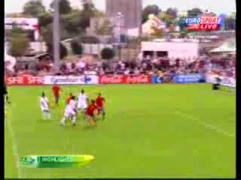 Spain 3-1 England Highlights U19 EM Semi-Final 27/07/2010