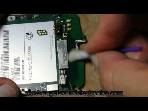 How to remove/fix broken Huawei USB port