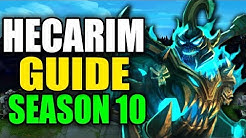SEASON 10 HECARIM GAMEPLAY GUIDE - (Best Hecarim Build, Runes, Playstyle) - League of Legends
