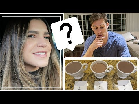 WIFE'S HOT COCOA VS. FAST FOOD HOT COCOA  *BLIND TEST*   Cody & Lexy VLOGMAS