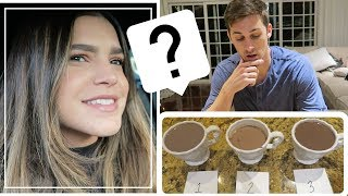 WIFE'S HOT COCOA VS. FAST FOOD HOT COCOA  *BLIND TEST* | Cody & Lexy VLOGMAS