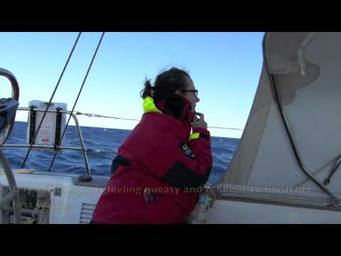 4. Day 1 - Sailing Across the Gulf Stream - Offshore Sailing on Bella Luna - Swan 48 sailboat