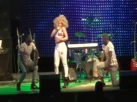 Ashley Stephanie Live Performance @ Music Africa Beach Splash 2015