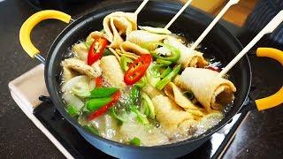 Fish cake soup(Eomuk-tang, 어묵탕…