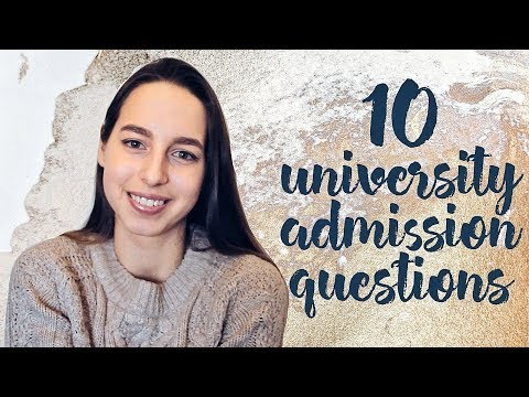 How To Pass University Admission Interview | 10 Questions