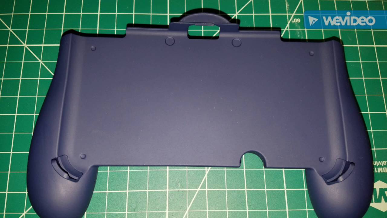 new 3ds xl hand grip by cyber gadget   youtube