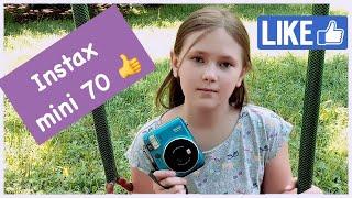 Фотокамера Fujifilm Instax Mini 70 // Обзор // Распаковка аксессуаров