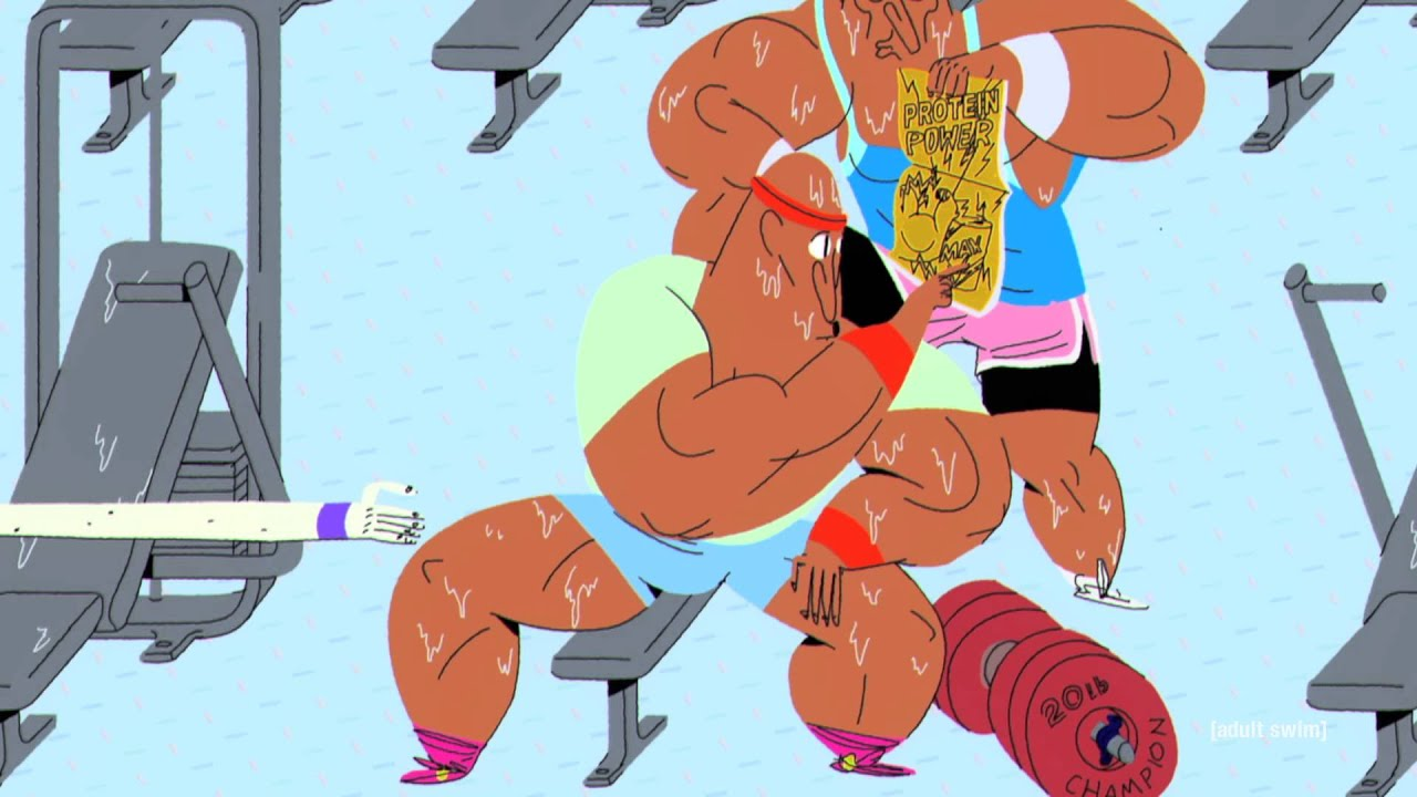 Protein Power Sweat | Animated Short #1