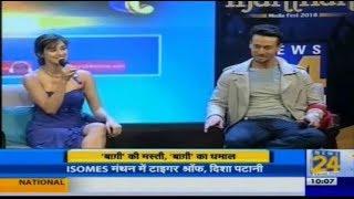 ISOMES Manthan : Disha Patani and Tiger Shroff promote Baaghi 2