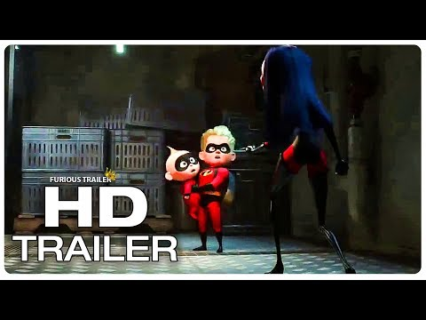 INCREDIBLES 2 Who Is Gonna Watch Jack Jack? Trailer (NEW 2018) Superhero Movie HD
