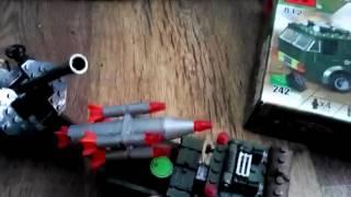 Обзор Лего Военная машина