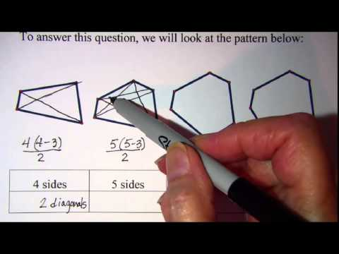 How many Diagonals of a Polygon