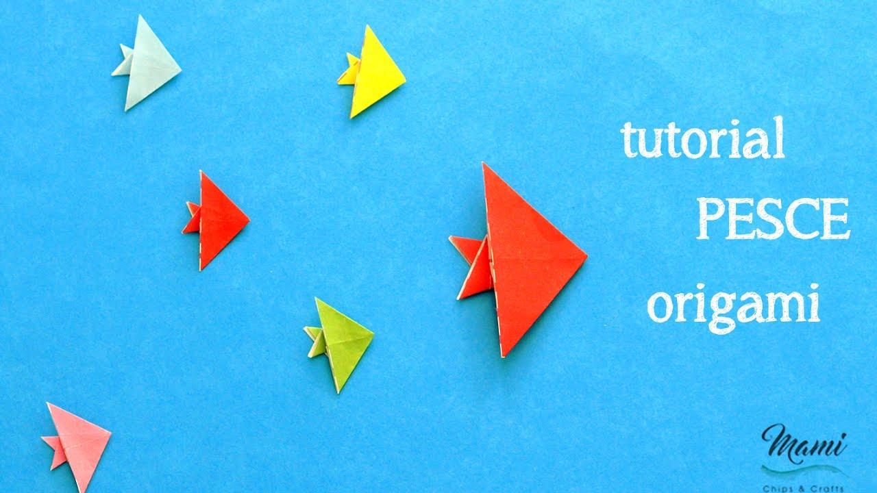 Tutorial Pesce Origami Youtube
