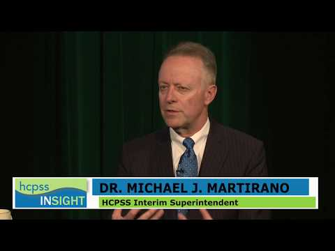 HCPSS Insight: Get to Know Dr. Michael J. Martirano