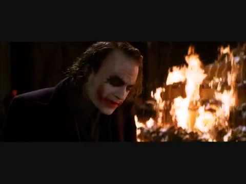 The Dark Knight - The Joker - Everything Burns - HQ2 - Cut - YouTube