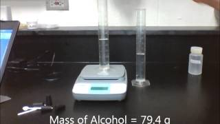 Lab 14.1 - Mass, Volume and Dissolving
